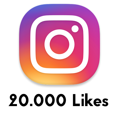 20000 likes instagram