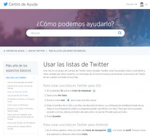 usa las listas de twitter para mejorar tu social media